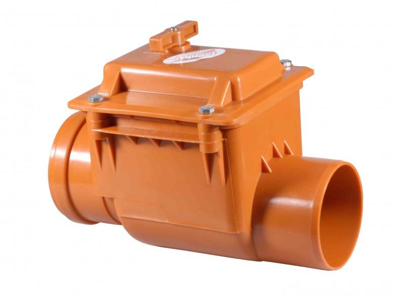 Обратный клапан D 110 для канализации